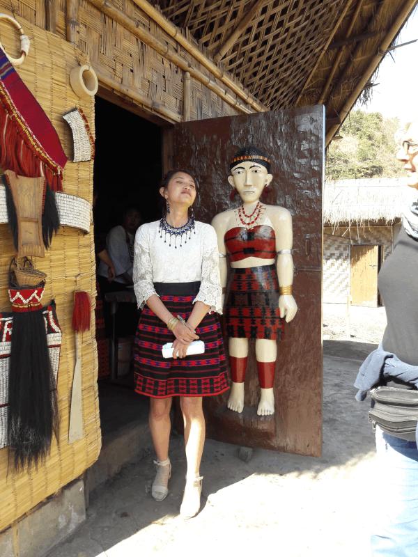 Sumi tribe Girl Nagaland