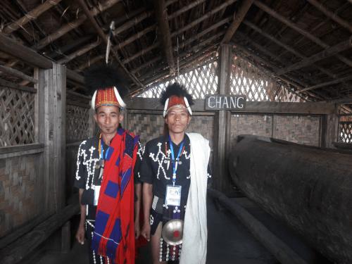 Chang Tribe people Nagaland