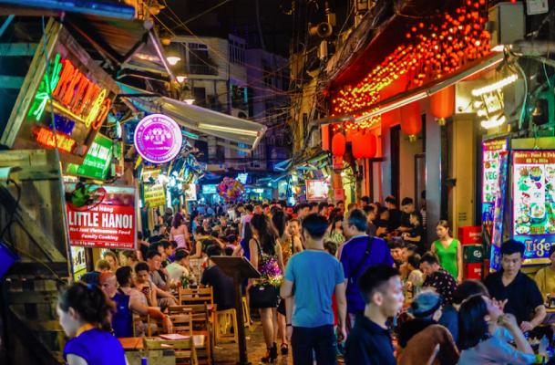 Ta Hien street  Vietnam