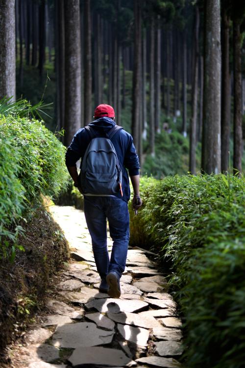 walk solo lamahata eco village