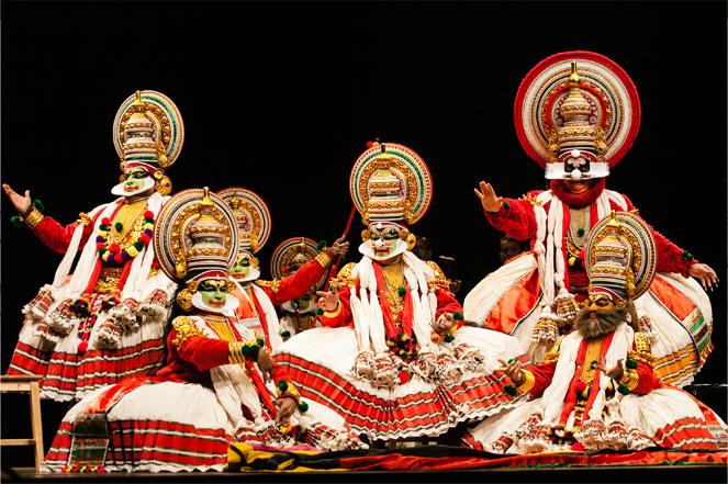 Kathakali Dance form Kerala