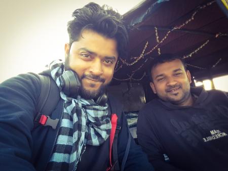 Social media friend Dipak at Jorhat